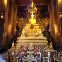 Photo taken at Wat Pho by Rattanajaruskul S. on 6/8/2013