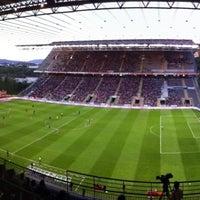 Photo taken at Estádio Municipal de Braga by Toze S. M. on 4/19/2013