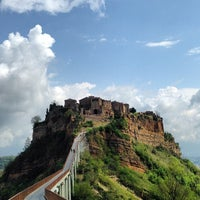 Photo taken at Civita di Bagnoregio by Charles G. on 4/15/2014