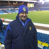 Photo taken at Elland Road by Hannah W. on 4/19/2013