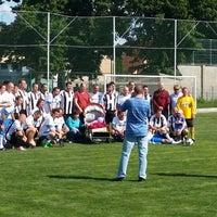 Photo taken at Fotbalové hřiště SK Úvaly by Václav D. on 5/31/2014