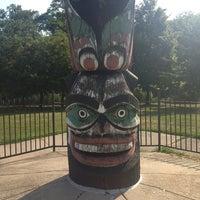 Photo taken at Waveland Park by Callie C. on 8/20/2013