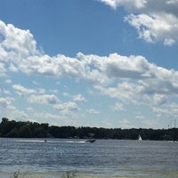 Photo taken at Long Lake by Kathleen E. on 8/31/2014