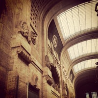 Photo taken at Milano Centrale Railway Station by Sara T. on 6/11/2013