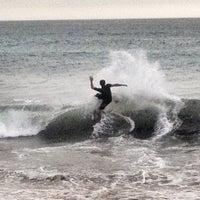 Photo taken at Praia do Norte by Samuel R. on 8/21/2013