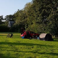 Photo taken at camping Donkere Duinen by Ome H. on 9/2/2018