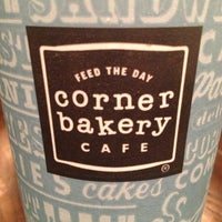 Photo taken at Corner Bakery by ESTHER on 1/12/2013