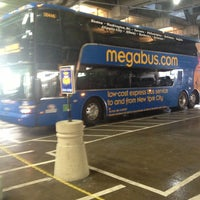 Photo taken at Megabus Stop - Washington, DC by Kelly F. on 11/29/2012