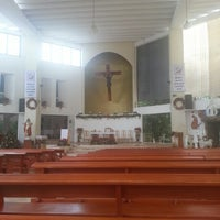 Photo taken at Catedral de Cancún by Gaby H. on 12/26/2012