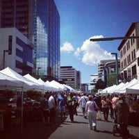 Photo taken at City Centre Farmers' Market by Kasia D. on 6/8/2013