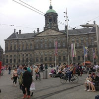 Photo taken at Dam Square by Mohamed H. on 6/21/2013