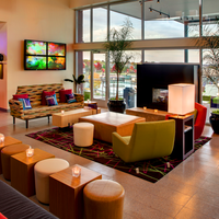 Photo taken at Aloft Leawood - Overland Park Hotel by Dana T. on 11/12/2014