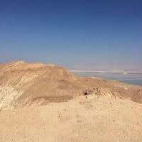Photo taken at Sdom-Arad Road View Point / תצפית כביש סדום-ערד by Tatiana T. on 10/23/2016