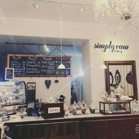 Photo taken at simply raw bakery by Mervegül A. on 10/21/2015