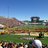 Photo taken at Floyd Casey Stadium by Gary B. on 9/21/2013