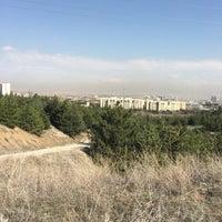 Photo taken at Bilkent Gölü by Suzan Y. on 4/6/2017