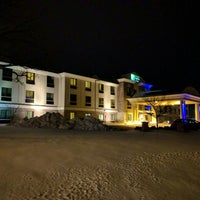 Photo taken at Holiday Inn Express & Suites Madison-Verona by Robert S. on 1/7/2016
