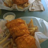 Photo taken at Sir Cricket's Fish & Chips by Len L. on 10/7/2016