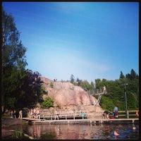Снимок сделан в Pikkukosken uimaranta пользователем Linda I. 6/8/2013