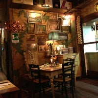 Photo taken at Nerone Trattoria by Camila T. on 7/19/2013