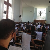 Photo taken at Instituto Bom Pastor by Thalita D. on 5/10/2013