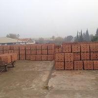 Photo taken at Erko Tuğla Fabrikası by Tayfun E. on 12/5/2014