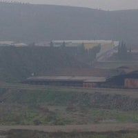 Photo taken at Erko Tuğla Fabrikası by Tayfun E. on 12/22/2014