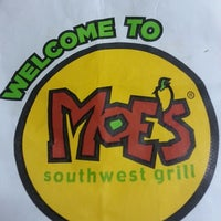 Photo taken at Moe's Southwest Grill by Susan K. on 4/14/2013