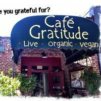 Photo taken at Café Gratitude by Stephany A. on 4/15/2013