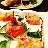 Photo taken at Umi Japanese Steak House & Sushi Bar by Brandi C. on 10/29/2012