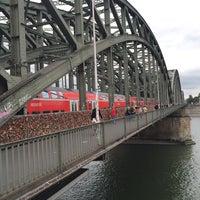 Photo taken at Köln Marina by Kadir Ç. on 10/5/2015