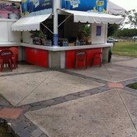 Photo taken at Clamato Snack Parque Metropolitano by Hiram M. on 6/10/2013