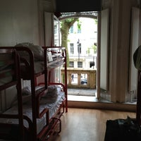 Photo taken at Astor Hyde Park Hostel by Kurt M. on 6/17/2013