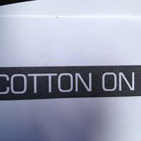 Снимок сделан в Cotton On пользователем Karlos P. 4/18/2013