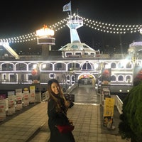 Photo taken at Han River by Sariyaporn S. on 10/22/2016