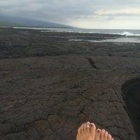 Photo taken at Hōnaunau Bay Puʻuhonua Pt. by Maki T. on 6/17/2014