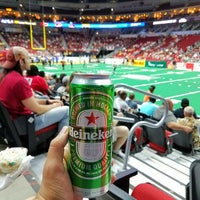 Photo taken at Iowa Barnstormers Game by Nick M. on 5/14/2017