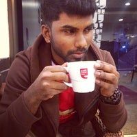 Photo taken at Café Coffee Day by Theeva on 2/6/2016