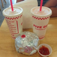 Photo taken at Five Guys by Marilyn G. on 7/21/2016