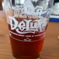 Photo taken at Deluxe Brewing Company by Mike B. on 4/14/2015