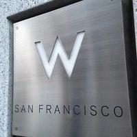 Photo taken at W San Francisco by Alex Z. on 6/3/2013