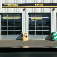 Photo taken at Meineke Car Care Center by Manuel M. on 10/26/2015