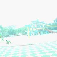 Photo taken at Taman Wisata Pasir Putih Sawangan by Lex Luthor i. on 12/1/2013