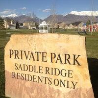 Photo taken at Saddleridge Park by Greg Y. on 4/22/2013