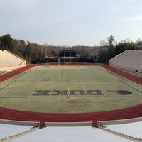 Photo taken at Brooks Field at Wallace Wade Stadium by Domo on 3/15/2013
