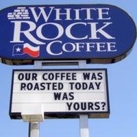 Photo taken at White Rock Coffee by Fredo T. on 1/27/2013