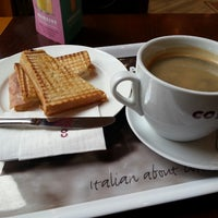 Photo taken at Costa Coffee (咖世家) by Lucas B. on 6/10/2013