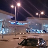 Photo taken at Sofia Airport (SOF) by Todor K. on 5/26/2013