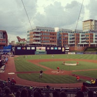 Photo taken at Durham Bulls Athletic Park by Neil P. on 7/10/2013