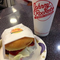 Photo taken at Johnny Rockets by Neil P. on 5/7/2013